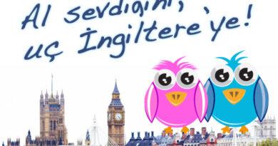 """EFINST İngilizce Dil Okulu ile """"Al sevdiğini, uç İngiltere'ye!"""""""