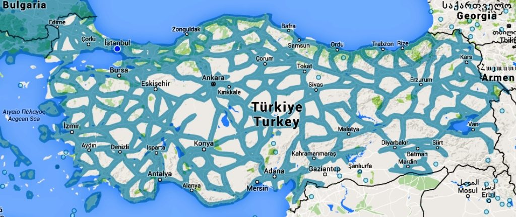 Google Haritalar'ın Sokak Görünümü Özelliğine Artık Türkiye'de Dahil